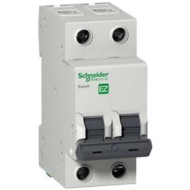 Mini Disjuntor C Bipolar 63A Schneider