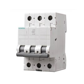 Mini Disjuntor C Tripolar 50A Siemens