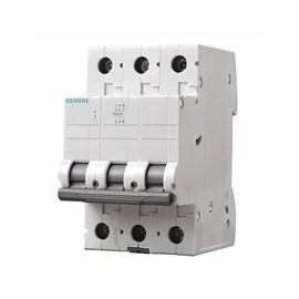 Mini Disjuntor C Tripolar 63A Siemens