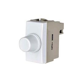 Módulo Dimmer Rotativo de Potência 300W 127V Branco Sleek Margirius