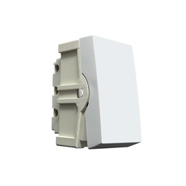 Módulo Interruptor Simples Branco Home Blux