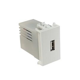 Módulo USB Carregador Branco Ilus Siemens