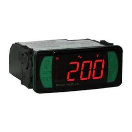 Monitor de Tensão Trifásico PHASELOG E PLUS 90-264VAC Full Gauge