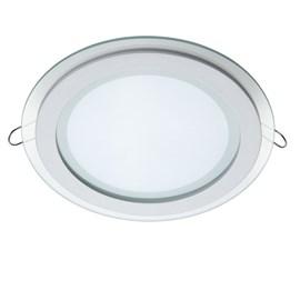 Painel LED de Embutir 12W Luz Branca Redondo Bivolt Avant