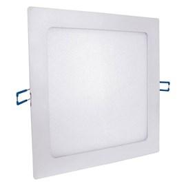 Painel LED de Embutir 12W Luz Branco Frio Quadrado Bivolt Empalux