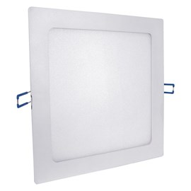 Painel LED de Embutir 12W Luz Branco Quente Quadrado Bivolt Empalux