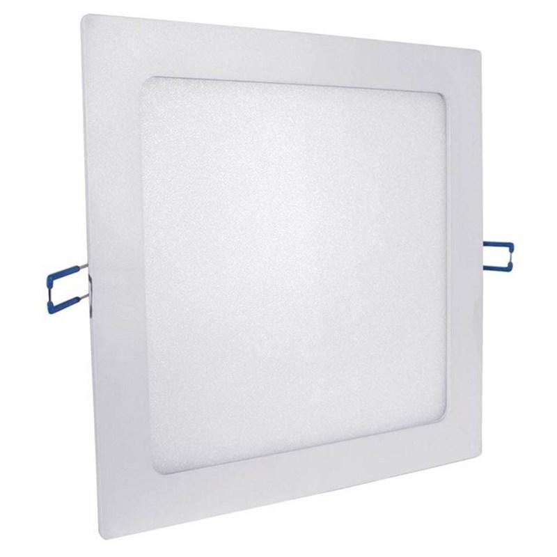 Painel LED de Embutir 24W Luz Branco Frio Quadrado Bivolt Empalux