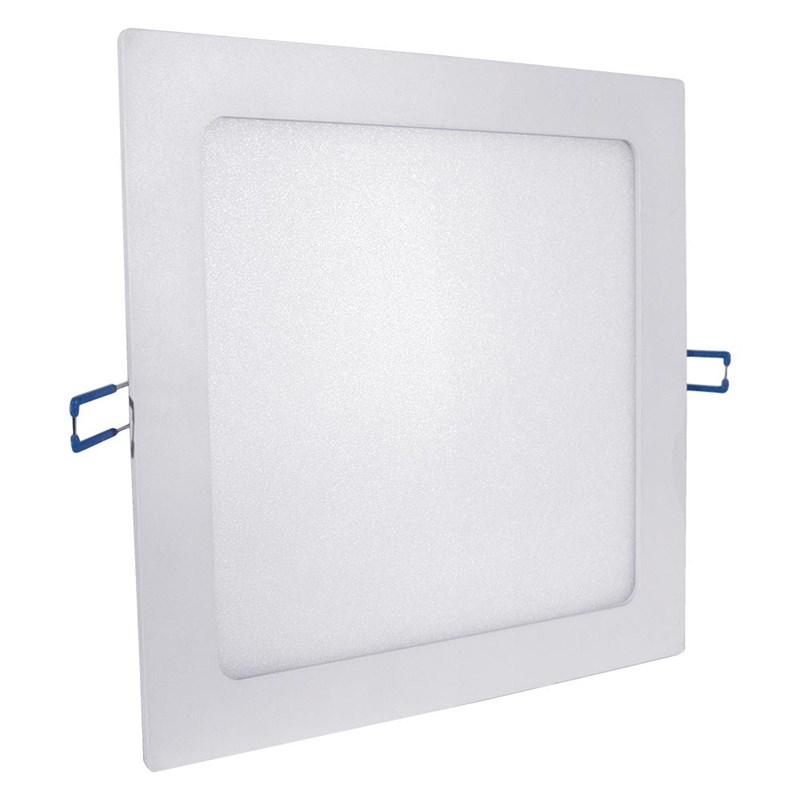 Painel LED de Embutir 24W Luz Branco Quente Quadrado Bivolt Empalux
