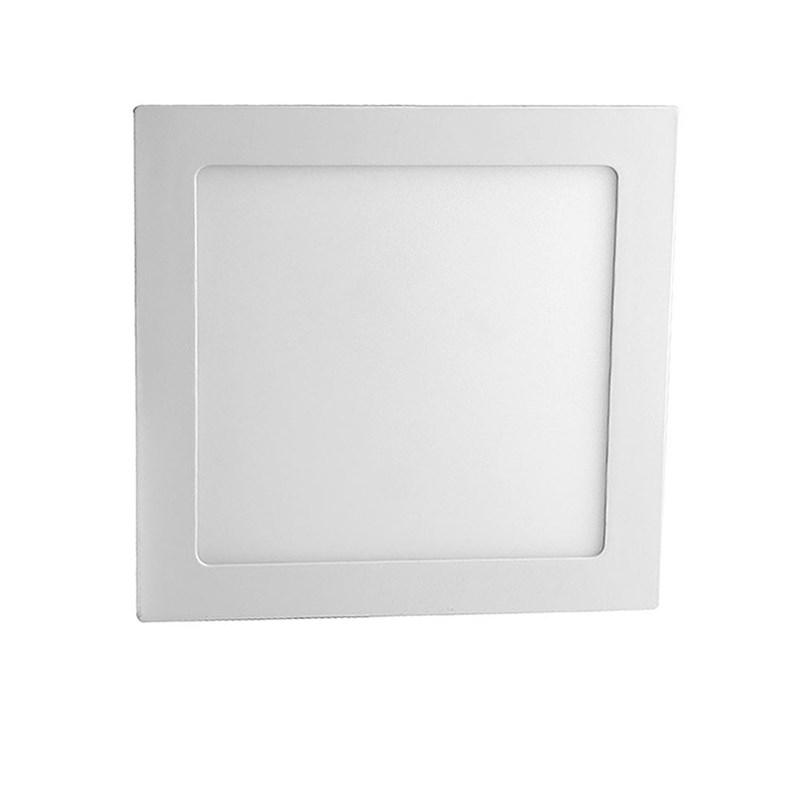 Painel LED de Embutir 25W Luz Branca Quadrado Bivolt Save Energy