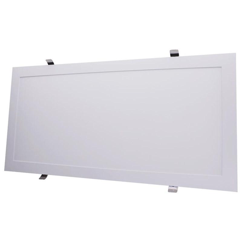 Painel LED de Embutir 40W Luz Branco Frio Retangular Bivolt Empalux