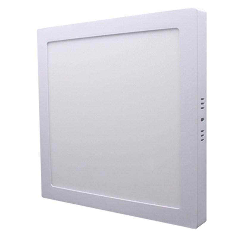 Painel LED de Sobrepor 12W Luz Branca Quadrado Bivolt Empalux