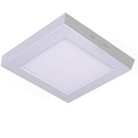 Painel LED de Sobrepor 12W Luz Branco Neutro Quadrado Bivolt Save Energy