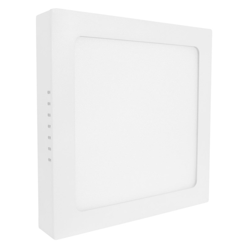 Painel LED de Sobrepor 25W Luz Branca Quadrado Bivolt Save Energy