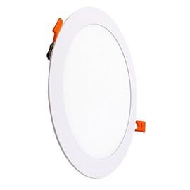 Painel LED Embutir 24W 3000K 29cm Redondo Bivolt VIT
