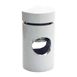 Passa Fio Aluminio Branco Claci