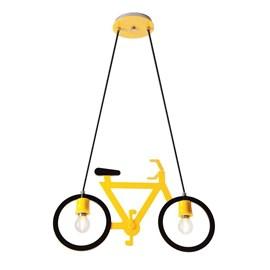 Pendente Bicicleta Amarelo Formacril