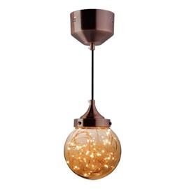 Pendente LED Ara 5W Luz Âmbar Bivolt Taschibra