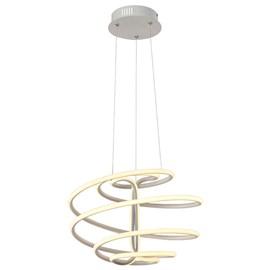 Pendente LED Light Sphere Alum Branco 54w 3000k 4320lm Luciin