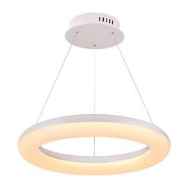Pendente LED Redondo Branco 48W Luz Branco Quente Bivolt Luminatti