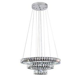 Pendente LED Tokyo Transparente 60W Luz Branco Quente Bivolt Bronzearte