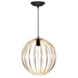 Pendente Wire Ball Grande Cobre Bivolt JM Iluminação