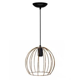 Pendente Wire Ball Pequeno Cobre JM Iluminação