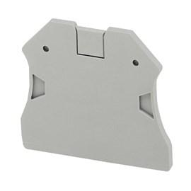 Placa de Extremidade para Borne SAK NSYTRAC22 2,5 - 10mm Cinza Schneider