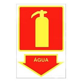 Placa Extintor Água Sinalize