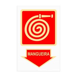 Placa Mangueira Sinalize
