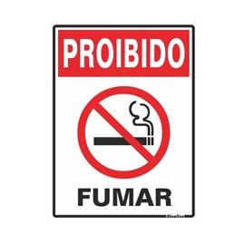 Placa Proibido Fumar Sinalize