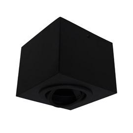 Plafon Box Quadrado 15cm PAR20 Preto Bivolt Bonin