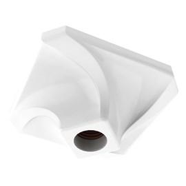 Plafon Inteligente Spiralle Quadrado Branco Startec