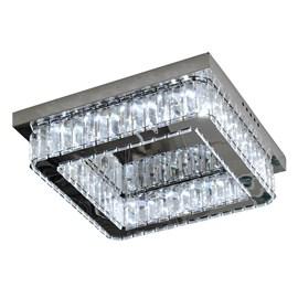 Plafon LED Madri Quadrado 40cm 16W 6000K Bivolt G-Light