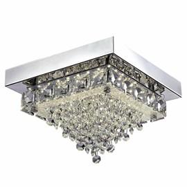 Plafon LED Madrid Quadrado 22cm 12W Luz Neutra Bivolt Quality