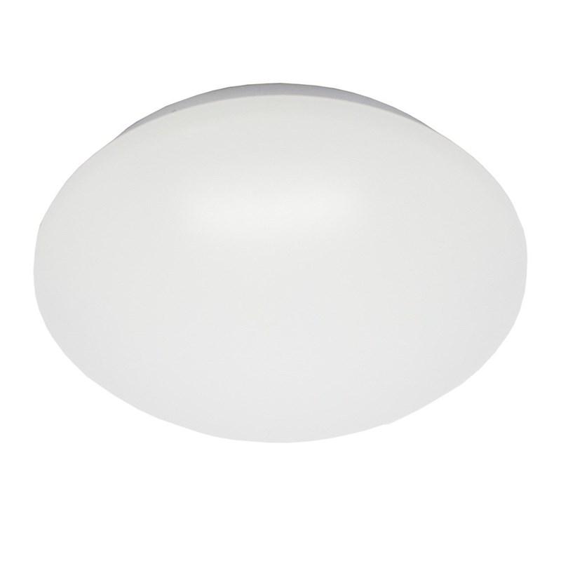 Plafon LED Smart Branco Redondo 20W Luz Branco Frio 127V Bronzearte