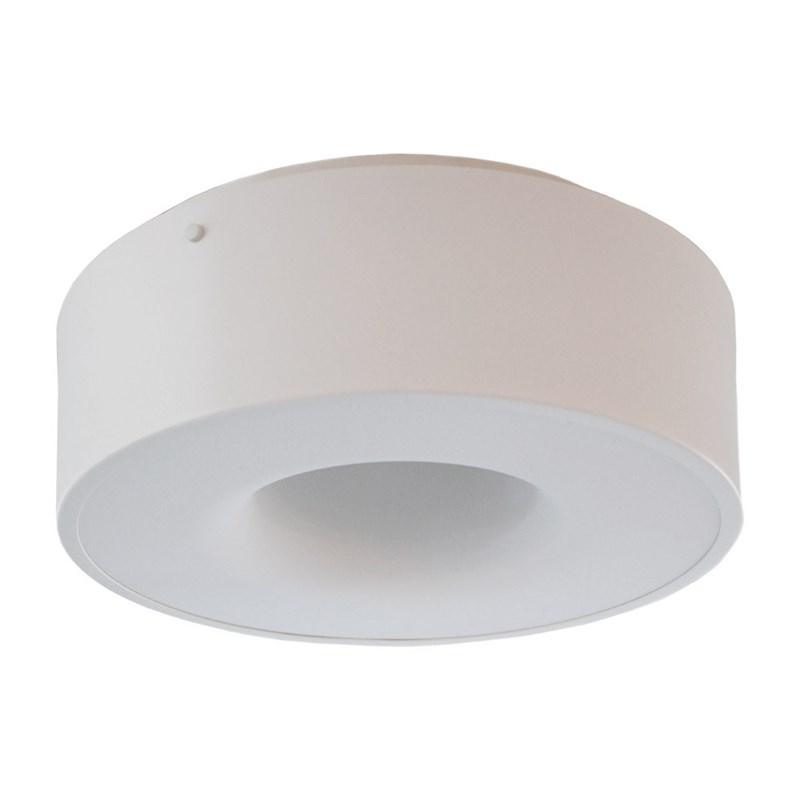 Plafon LED Sushi Redondo Branco 40W Luz Branco Quente Bivolt Taschibra