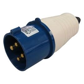 Plug Blindado 3P+T 32A 250V Azul Metaltex