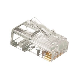 Plug Modular RJ-45 Macho CAT5E Metaltex