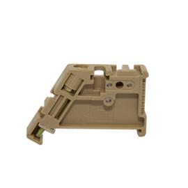 Poste SAK Final Bloco Fixação para Trilho TS-35 MAB35P Metaltex