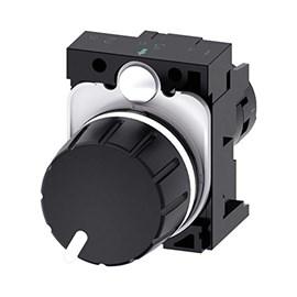 Potenciômetro Compacto 22MM 4K7 OHM Siemens