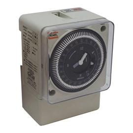 Programador de Horário Analógico para Trilho DIN RTM 110V Coel