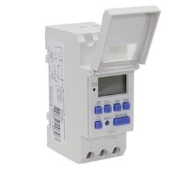 Programador de Horário Digital para Trilho DIN 7PV0300-0AN00 Bivolt Siemens