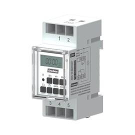 Programador de Horário Digital para Trilho DIN TM-ED220DIN 220V Enerbras
