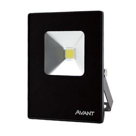 Refletor LED 10W Luz Amarela Bivolt Avant