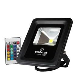 Refletor LED 10W Luz Verde Bivolt Avant