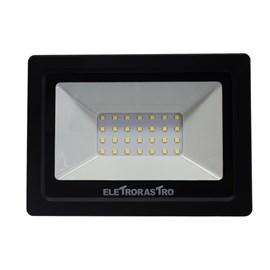 Refletor LED 30W Luz Branco Frio Bivolt Eletrorastro