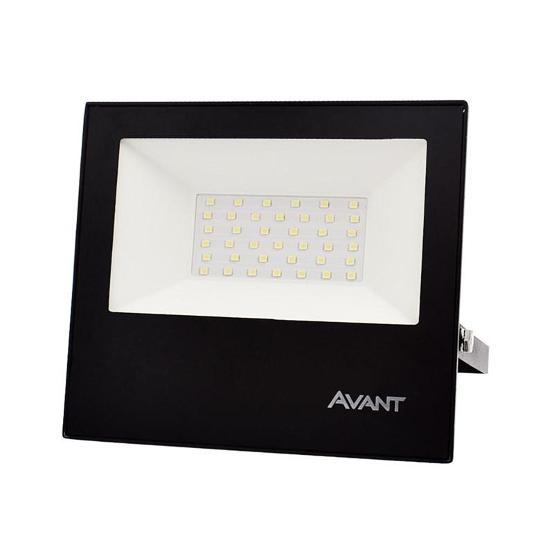 Refletor LED 50W Luz Branca Bivolt Avant