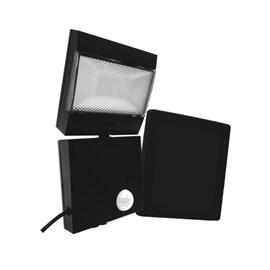 Refletor LED Compacto Energia Solar com Sensor de Movimento Luz Branco Frio Ecoforce