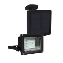 Refletor LED Energia Solar Luz Branca Ecoforce