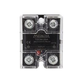 Relé de estado sólido miniatura TZCM-25A 380VCA 4-32VCC Metaltex